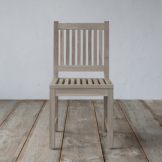 Protected Teak Classic Dining Chair