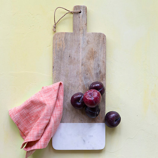 Marble Edge Serving Board