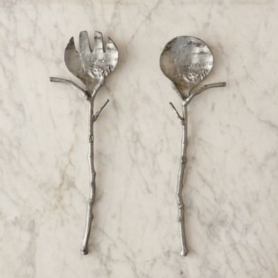 Birch Twig Serving Spoons