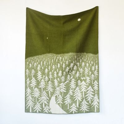 Woolen Woods Throw