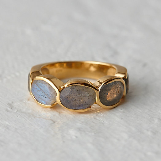 Labradorite Path Ring
