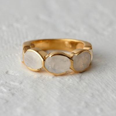Moonstone Path Ring