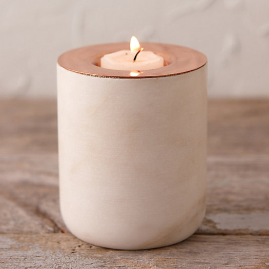 Copper & Marble Votive
