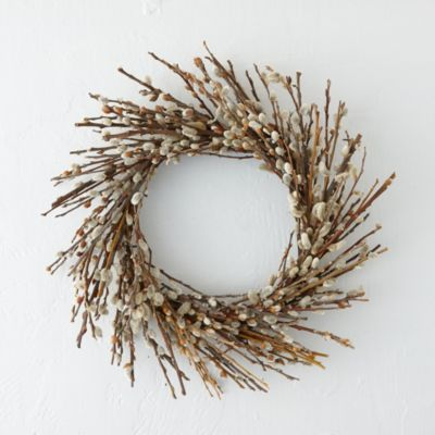 Pussy Willow Twig Wreath