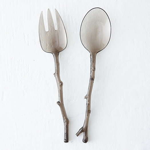 Twig Picnic Salad Servers