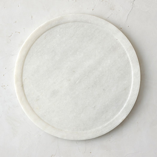 Polished Marble Charger