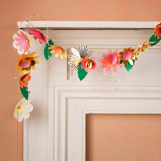Paper Flowers Garland Kit