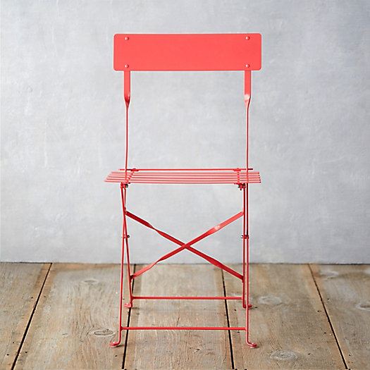 Painted Metal Bistro Chair