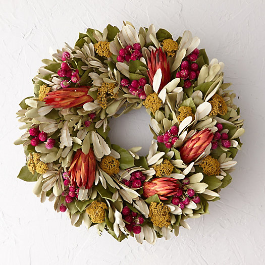 Amaranth & Protea Wreath
