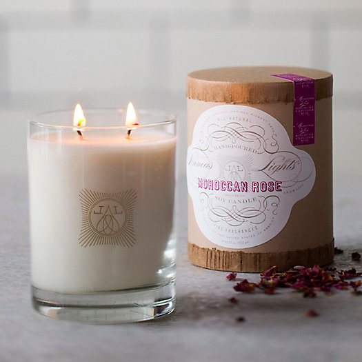 Linnea's Lights Candle, Moroccan Rose