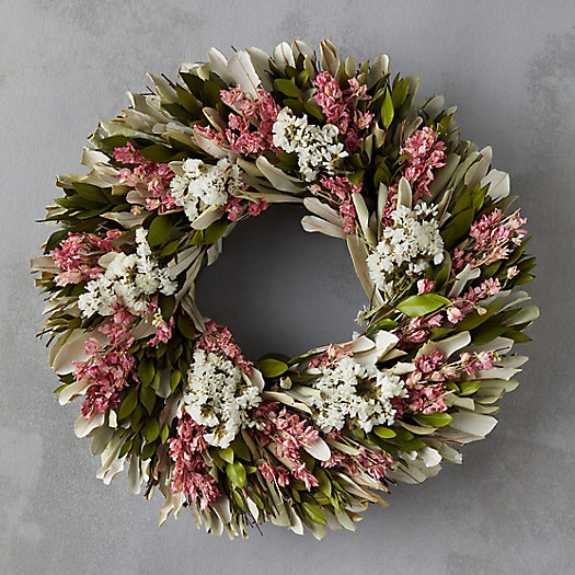 Larkspur Garden Wreath