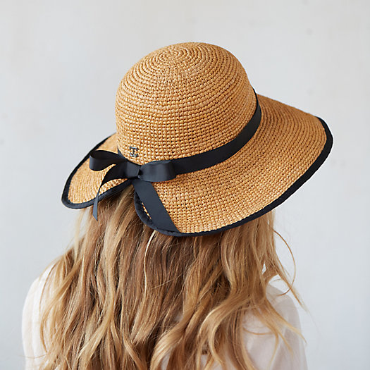 Adjustable Raffia Sun Hat