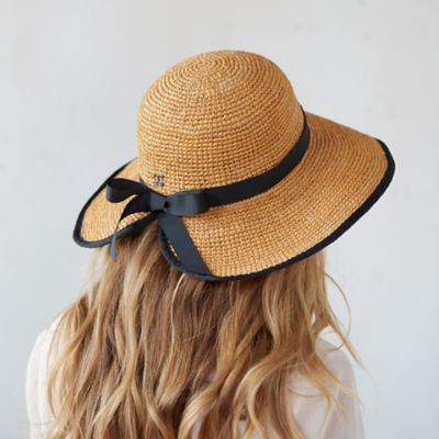 Adjustable Raffia Sun Hat in Garden Garden Essentials at Terrain