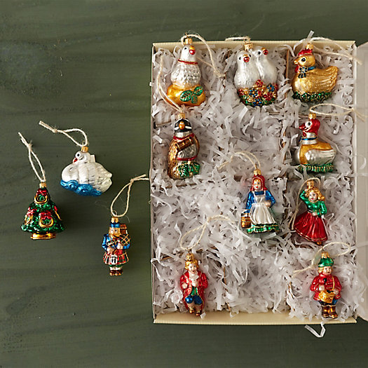 12 Days Of Instagram Christmas Decors: 12 Days Of Christmas Ornament Set