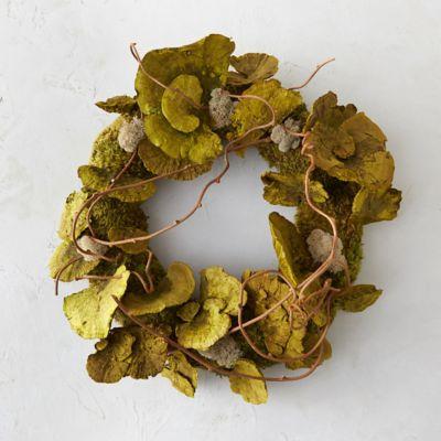 Shelf Mushroom & Moss Wreath