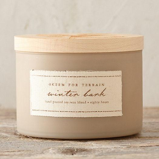 Winter Bark Candle