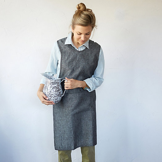 Crossback Chambray Apron