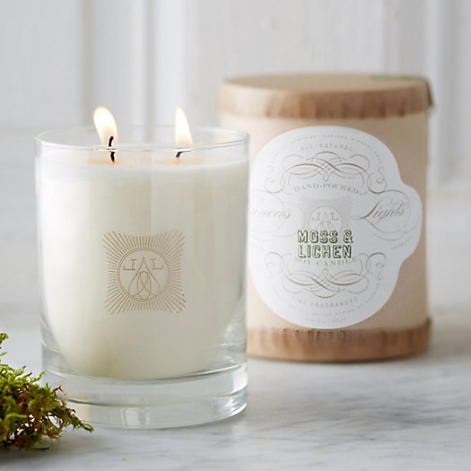 Linnea's Lights Candle, Moss & Lichen