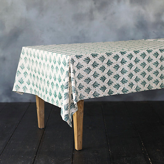 Cotton Fir Tablecloth