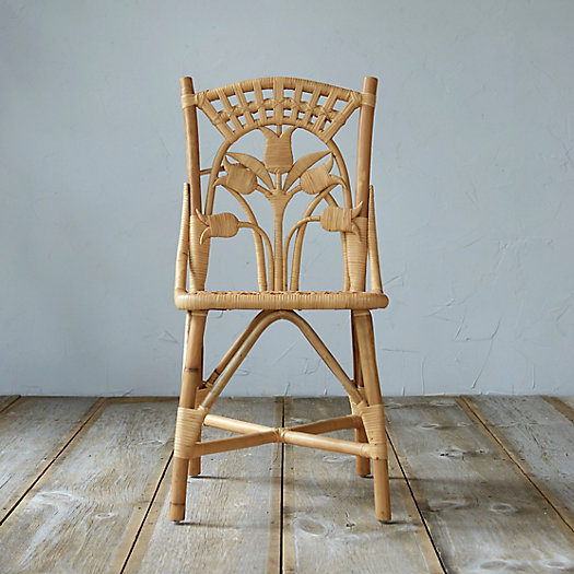 Lily Rattan Chair