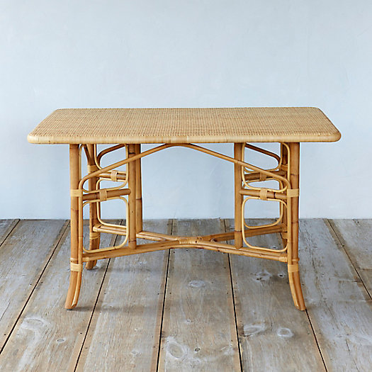 Natural Rattan Rectangle Table