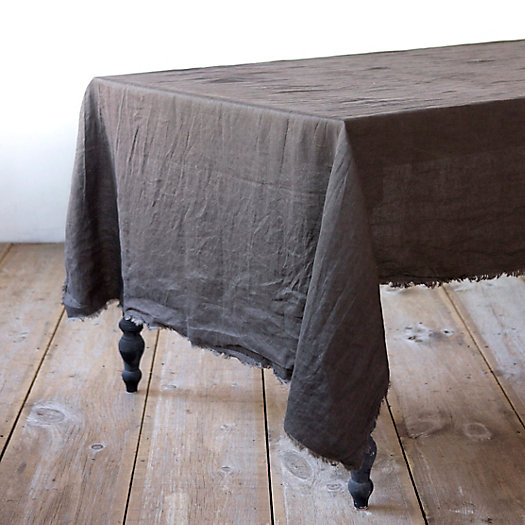 Well-Wrinkled Linen Tablecloth