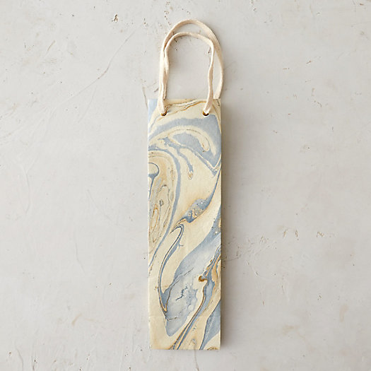Marbled Wine Bag