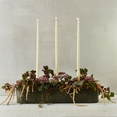 Candle Centerpiece Trough