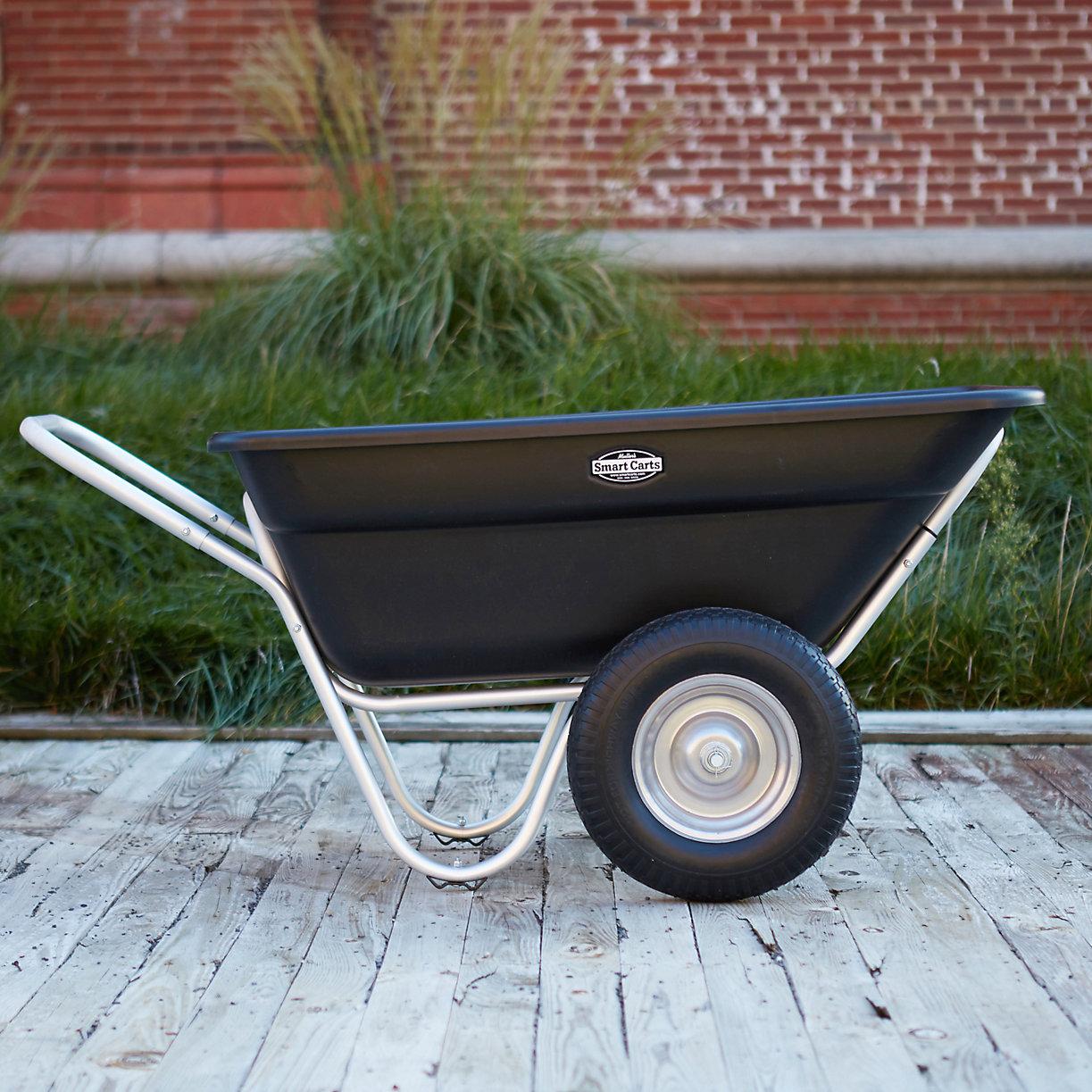 Two Wheel Garden Cart Terrain