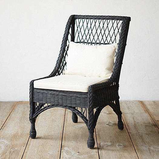 Ebony Rattan Chair