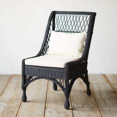 Ebony Rattan Chair