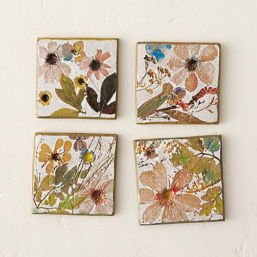 Wildflower Series Coaster Set
