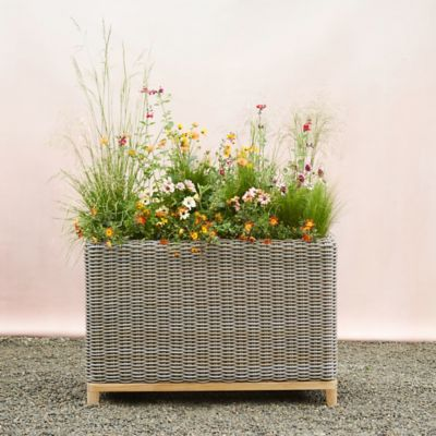 All Weather Wicker Patio Trough