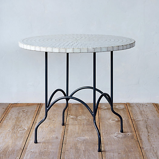Marble Mosaic Patio Table