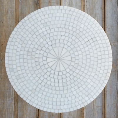 ... Marble Mosaic Patio Table