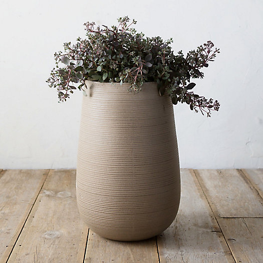 Horizon Stripe Drop Planter