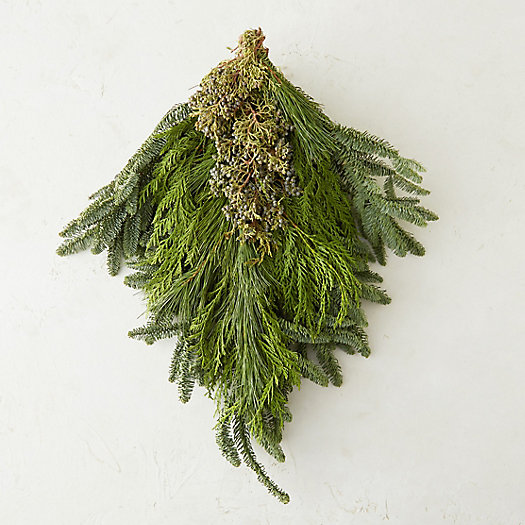 Fresh Evergreen & Juniper Bunch