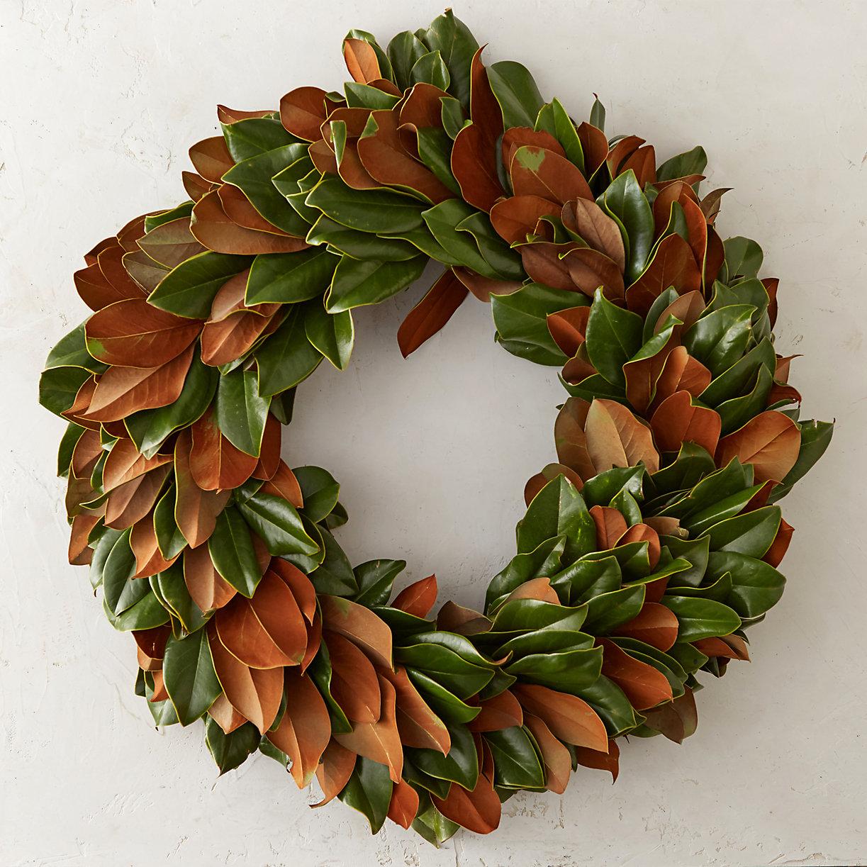 Fresh Magnolia Wreath Terrain