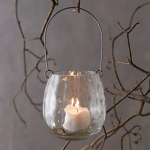 Hanging Votive Holder, Faceted