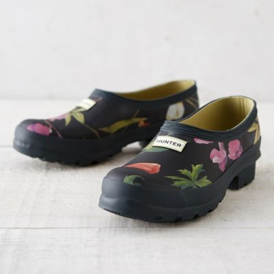 Hunter Floral Garden Clogs Terrain