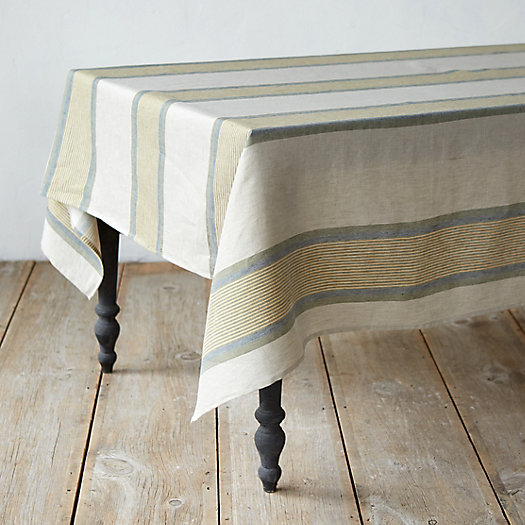 Mixed Stripe Tablecloth
