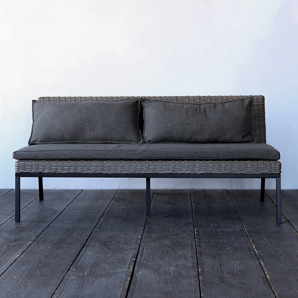 All Weather Sofa Belham Living Polanco Curved Back All Weather Wicker Sofa Daybed Thesofa