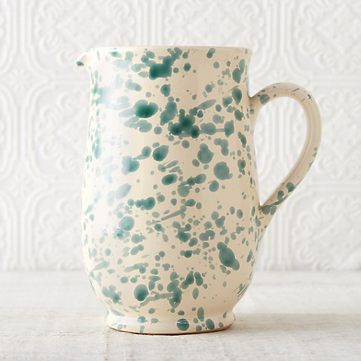 Spruzzi Ceramic Pitcher