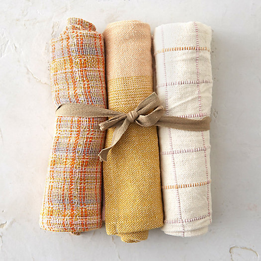 Cotton Tea Towel Trio