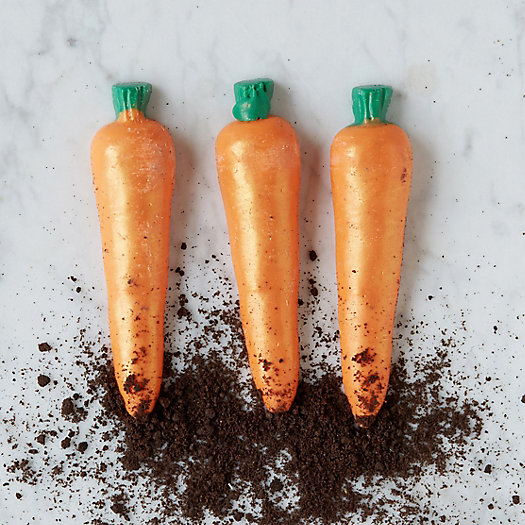 Garden Carrot Chocolates