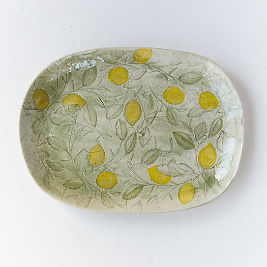 Lemon Tree Serving Platter