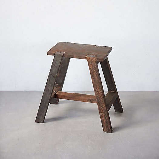 Ironwood Trestle Stool