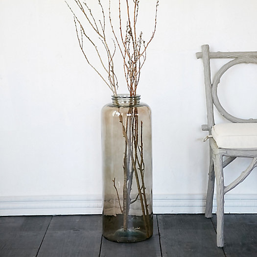 Recycled Glass Cylinder Vase