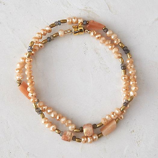 Peach Orchard Wrap Bracelet