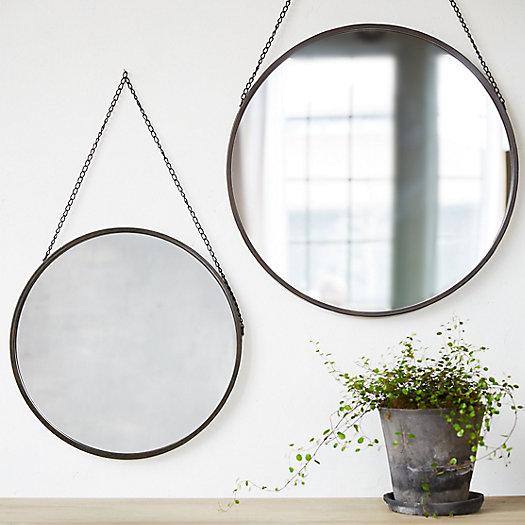Hanging Circle Mirror : Terrain